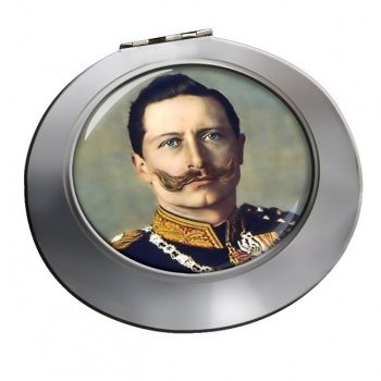 Kaiser Wilhelm II Chrome Mirror