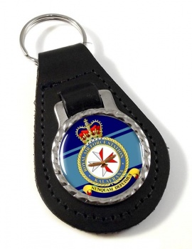 RAF Station Kalafrana Leather Key Fob