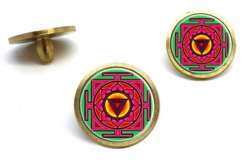 Kali Yantra Golf Ball Markers