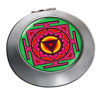 Kali Yantra Chrome Mirror