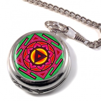 Kali Yantra Pocket Watch