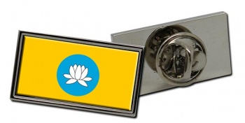 Kalmykia Flag Pin Badge