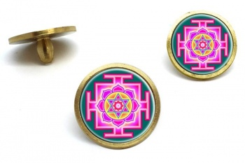 Kamala Yantra Golf Ball Markers