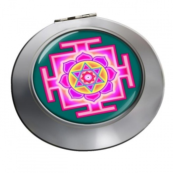 Kamala Yantra Chrome Mirror