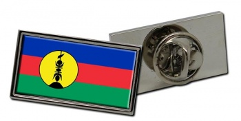 Kanak New Caledonia Flag Pin Badge