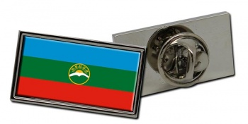 Karachay-Cherkessia Flag Pin Badge