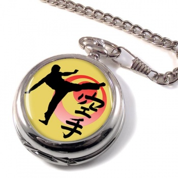 Karate Pocket Watch