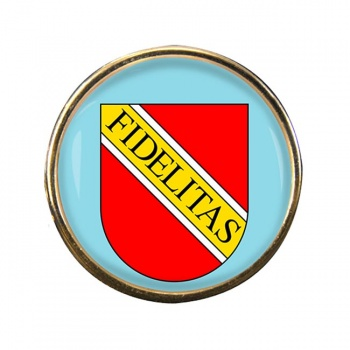 Karlsruhe (Germany) Round Pin Badge