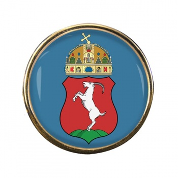 Kecskemet Round Pin Badge
