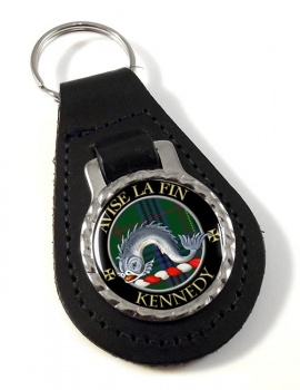 Kennedy Scottish Clan Leather Key Fob