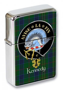Kennedy Scottish Clan Flip Top Lighter
