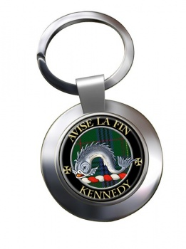 Kennedy Scottish Clan Chrome Key Ring