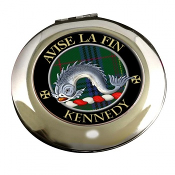 Kennedy Scottish Clan Chrome Mirror