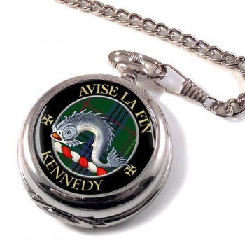 Kennedy Scottish Clan Pocket Watch