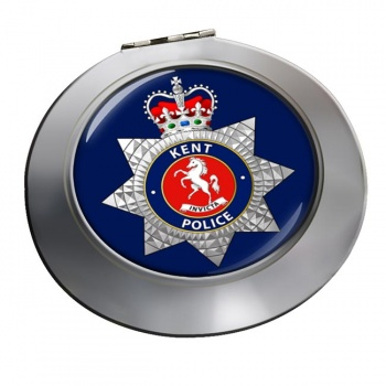Kent Police Chrome Mirror