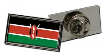 Kenya Flag Pin Badge
