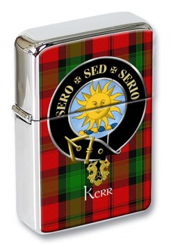Kerr Scottish Clan Flip Top Lighter