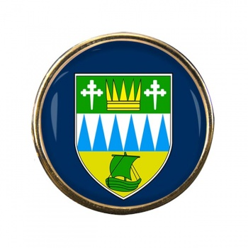 County Kerry (Ireland) Round Pin Badge