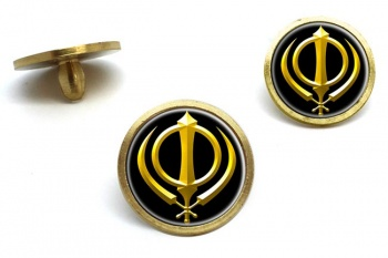 Khanda relief Golf Ball Markers