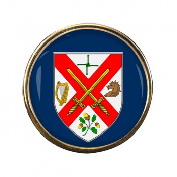 County Kildare (Ireland) Round Pin Badge