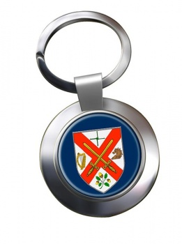County Kildare (Ireland) Metal Key Ring