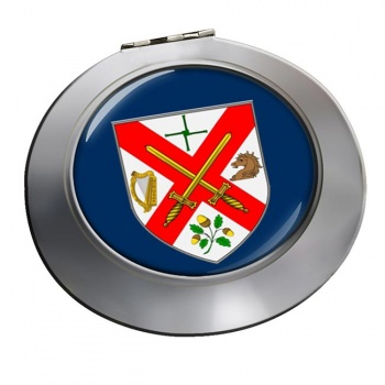 County Kildare (Ireland) Round Mirror