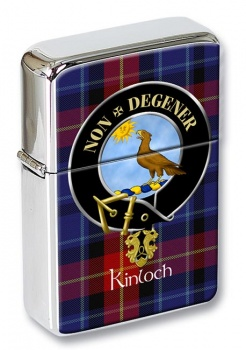 Kinloch Scottish Clan Flip Top Lighter