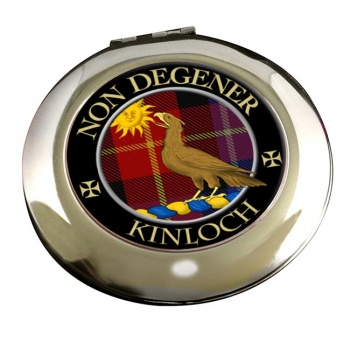 Kinloch Scottish Clan Chrome Mirror
