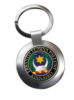Kinnaird Scottish Clan Chrome Key Ring