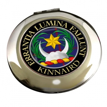 Kinnaird Scottish Clan Chrome Mirror