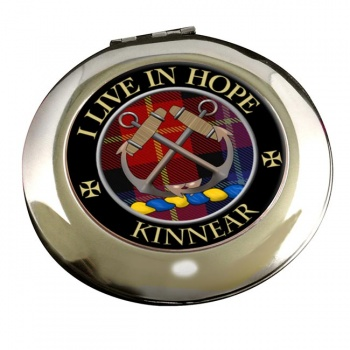Kinnear Scottish Clan Chrome Mirror