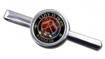 Kinnear Scottish Clan Round Tie Clip