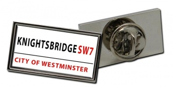 Knightsbridge Rectangle Pin Badge