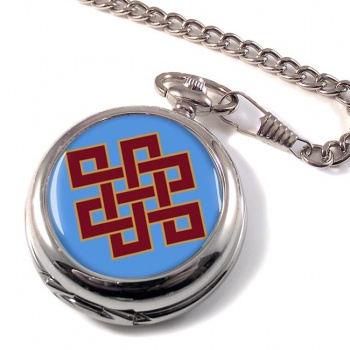 Endless Knot of Eternity Pocket Watch