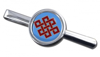Endless Knot of Eternity Tie Bar