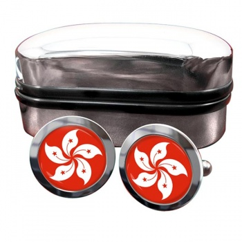 Hong Kong Crest Cufflinks