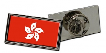 Hong Kong Flag Pin Badge