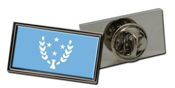 Kosrae (Micronesia) Flag Pin Badge