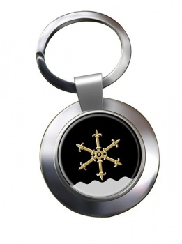 Kouvola Metal Key Ring