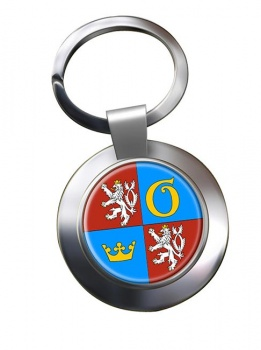 Kralovehradecky Kraj Metal Key Ring