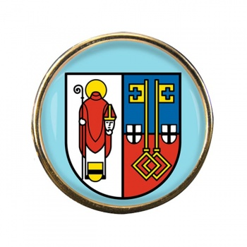 Krefeld (Germany) Round Pin Badge