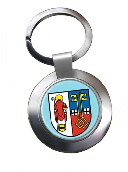Krefeld (Germany) Metal Key Ring