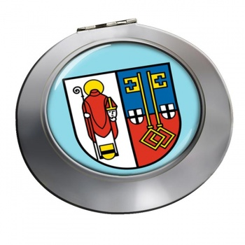 Krefeld (Germany) Round Mirror