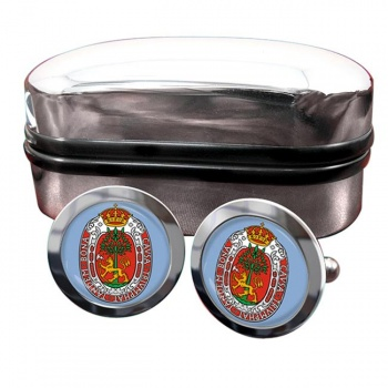 Kristiansand (Norway) Crest Cufflinks