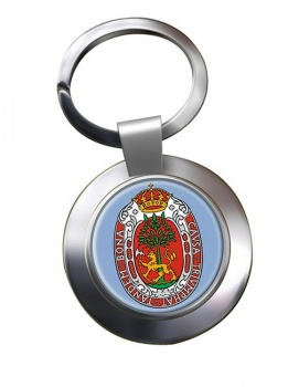 Kristiansand (Norway) Metal Key Ring