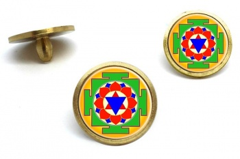 Krishna Yantra Golf Ball Markers