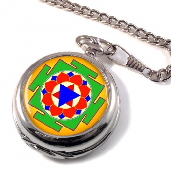 Krishna Yantra Pocket Watch