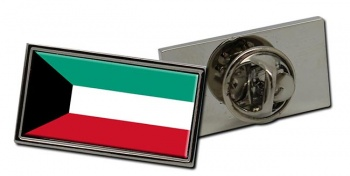 Kuwait Flag Pin Badge