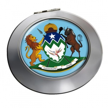 KwaZulu-Natal (South Africa) Round Mirror