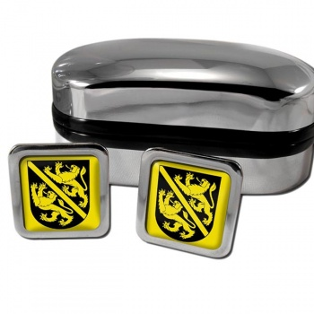 Kyburg Switzerland Square Cufflinks